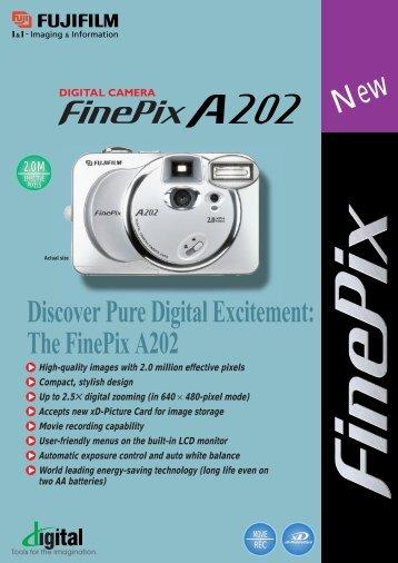FinePix A200 Digital Camera Brochure - Fujifilm USA