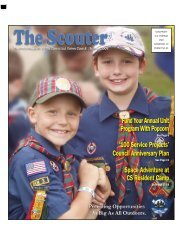 July Scouter:2008 - Connecticut Yankee Council