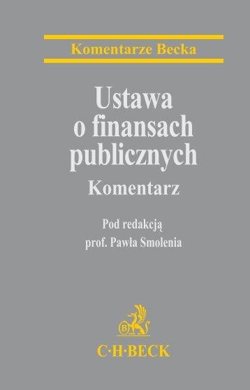 Ustawa o finansach publicznych - Gandalf