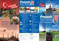 Besucherprospekt 2013 zum Download (pdf 1 MB) - Freizeit Messe ...