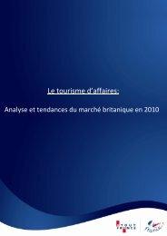 Le tourisme d'affaires: