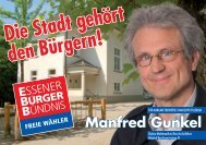 Die Stadt gehört den Bürgern! - Freie Wähler-Essener BÜRGER ...