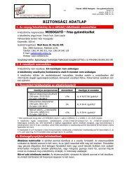 Biztonsági adatlap - Well Done mosogatószer (pdf) - Sanitech