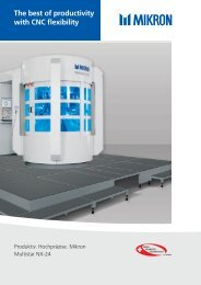 the best of productivity with cnc flexibility - Mikron