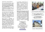 Flyer - auf der Website der Friedrich Realschule Weinheim.
