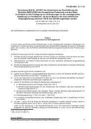 Verordnung (EU) Nr. 327/2011 der Kommission zur Durchführung ...