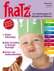 Mehr Durchblick im Therapie- Dschungel Kinder ... - Fratz