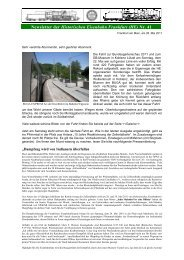 26. Mai 2011 - Historische Eisenbahn Frankfurt