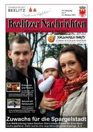 Beelitzer Nachrichten - Oktober 2013