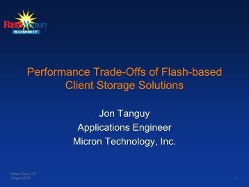 Title of Presentation - Flash Memory Summit