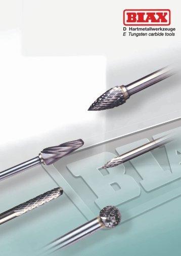 Frässtifte aus Hartmetall - Frank Drucklufttechnik