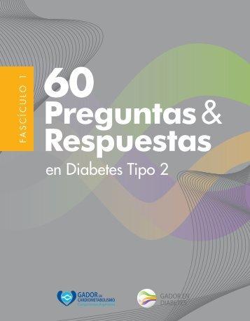 60 Preguntas & Respuestas en Diabetes Tipo 2