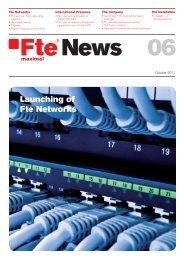 Fte News 06_en.indd - FTE Maximal