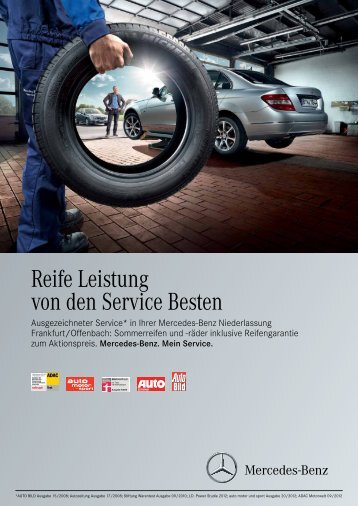 Reife Leistung von den Service Besten - Mercedes-Benz ...