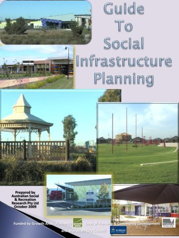 A Short Guide to Growth Area Community Infrastructure Planning