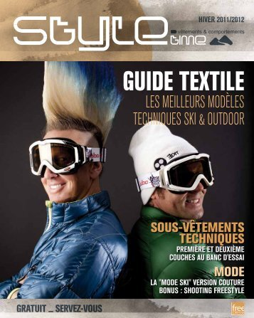 Guide textile