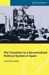 The Transition to a Decentralized Political System in Spain ...