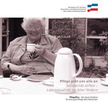 Pflege geht uns alle an Solidarität stiften - fotografieundgestaltung.com