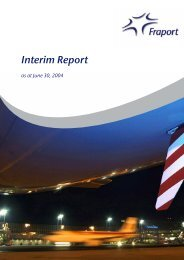 Group Interim Report January 1 to June 30, 2004 - Fraport AG