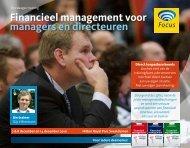Financieel management voor managers en directeuren - Focus ...