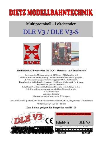 DLE V3 / DLE V3-S