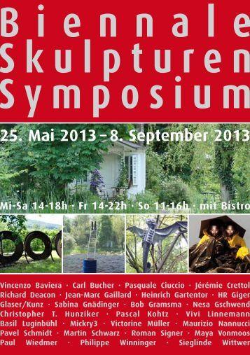 Flyer - biennale-skulpturen-symposium