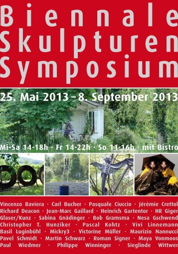 Flyer - biennale-skulpturen-symposium