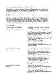 Download der Schul- und Hausordnung - auf der Website der ...