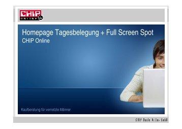 Chip online home tag Fullscreenspot