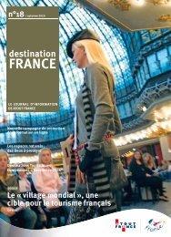 LE JOURNAL D'INFORMATION DE ATOUT FRANCE n