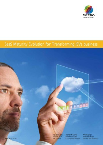 Saas Maturity Evolution for Transforming Isvs business