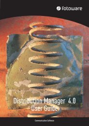 Distribution Manager 4.0 User Guide - FotoWare