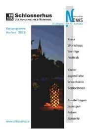 Schlosserhus News Auflage 41