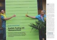 Karibik-Feeling mit Gleisanschluss - Hotel & Gastro Union