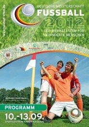 Programm 2012, PDF, 16,7MB - Deutsche Fußball-Meisterschaft der ...