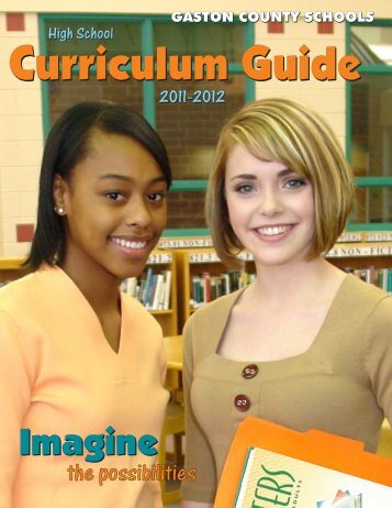 Curriculum Guide 2011-2012 for Website.cdr - Gaston County Schools