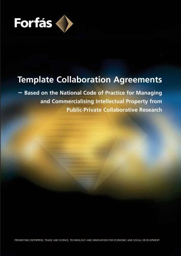 Template Collaboration Agreements - Forfás