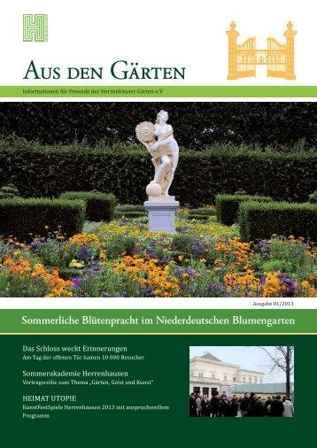 pdf zum Download (2 MB) - Freunde der Herrenhäuser Gärten eV