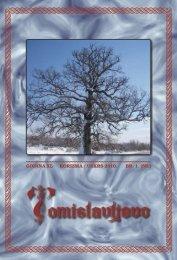 GODINA XL kOrIzmA / uskrs 2010. Br. 1. (58.)