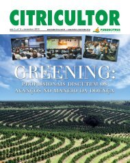 greening revista do citricultor - Fundecitrus