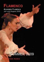 FLAMENCO SOMMER 2009 - Academia Flamenca