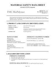 Gelcarin® GP 359 Carrageenan - FMC Corporation