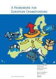 A Framework for European Crowdfunding