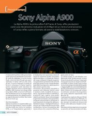Sony Alpha A900 - Fotografia.it