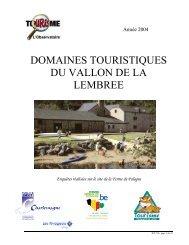 Domaine de Palogne - Fédération du Tourisme de la Province de ...