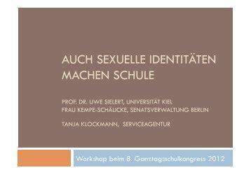 Info Sexuelle Identitäten