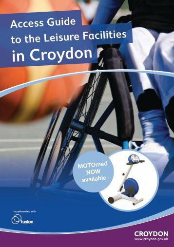 Croydon Leisure Accessibility Guide - Fusion Lifestyle