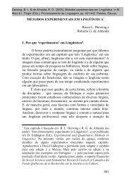 401 MÉTODOS EXPERIMENTAIS EM LINGÜÍSTICA Bruce L - Alcor