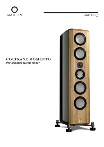 Coltrane Momento brochure.pdf (800kb) - Marten