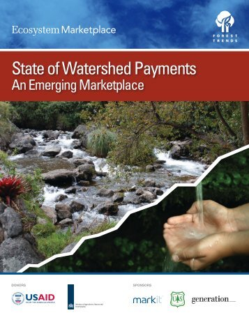 State of Watershed Payments: An Emerging ... - Forest Trends